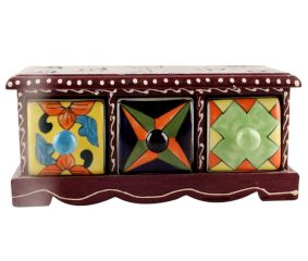 Spice Box-1434 Masala Rack Container Gift Item