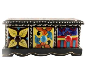 Spice Box-1435 Masala Rack Container Gift Item