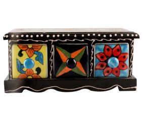 Spice Box-1438 Masala Rack Container Gift Item