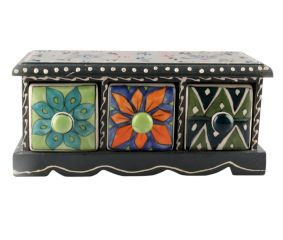 Spice Box-1443 Masala Rack Container Gift Item