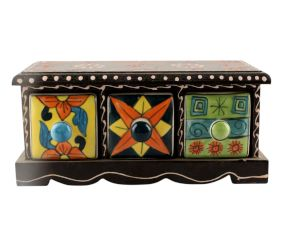 Spice Box-1447 Masala Rack Container Gift Item