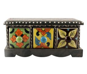 Spice Box-1448 Masala Rack Container Gift Item