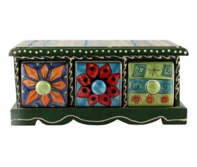 Spice Box-1449 Masala Rack Container Gift Item