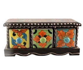 Spice Box-1451 Masala Rack Container Gift Item