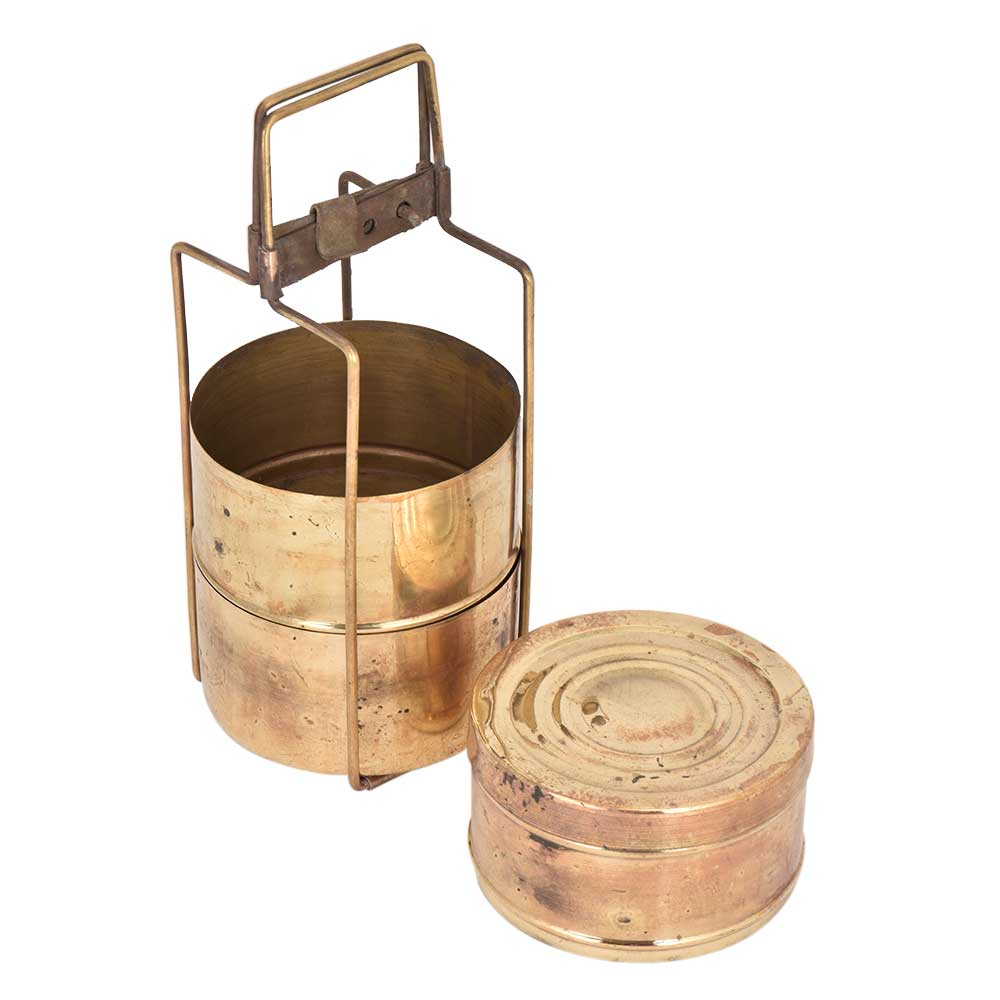 Vintage Brass made Lunch Box
