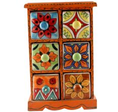 Spice Box-1452 Masala Rack Container Gift Item