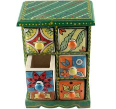 Spice Box-1454 Masala Rack Container Gift Item