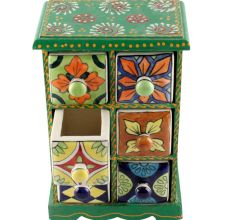 Spice Box-1457 Masala Rack Container Gift Item