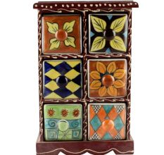 Spice Box-1462 Masala Rack Container Gift Item