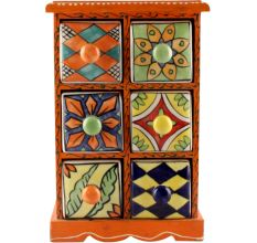 Spice Box-1465 Masala Rack Container Gift Item