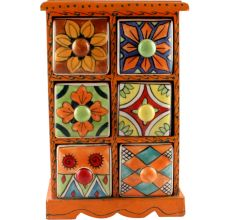 Spice Box-1467 Masala Rack Container Gift Item
