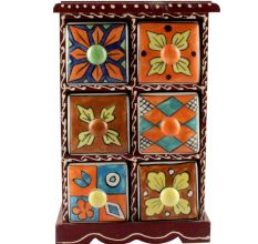 Spice Box-1468 Masala Rack Container Gift Item
