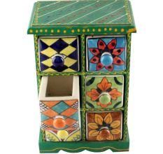 Spice Box-1474 Masala Rack Container Gift Item