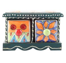Spice Box-1481 Masala Rack Container Gift Item