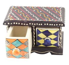 Spice Box-1490 Masala Rack Container Gift Item