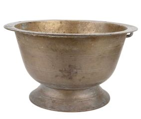 Handmade Brass Flower Pot With Stand