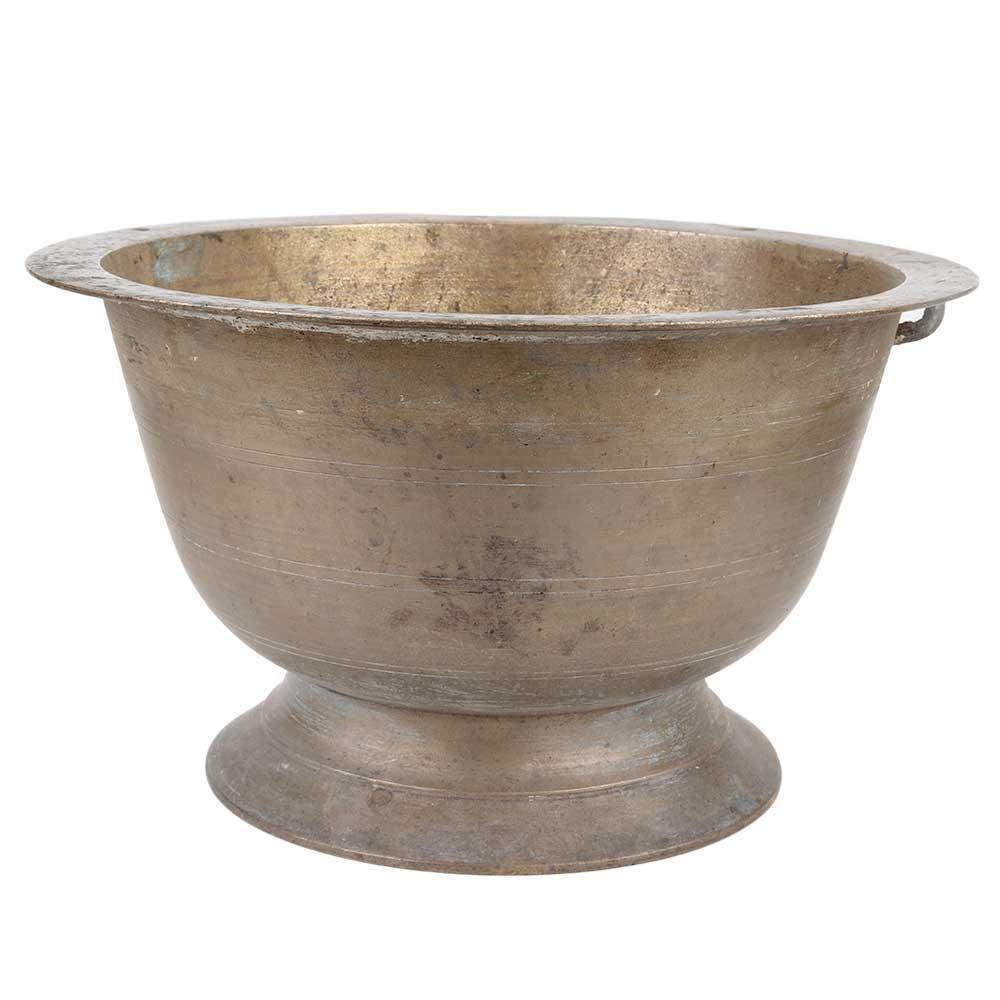 Handmade Brass Flower Pot With Stand