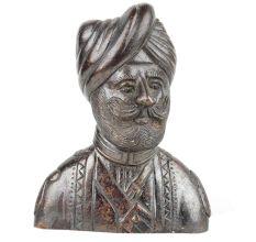 Handmade Brass Indian Army Solider Bust