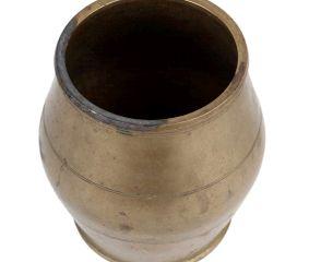Unique Drum Shaped Pot