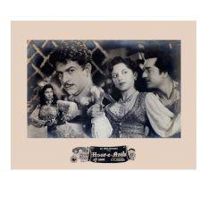 Old Movie Poster Clip Bollywood Movie Hoor-e-Arab
