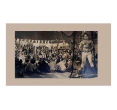 Dara Singh Vintage Hindi Movie Poster Single Photographic Print Collection
