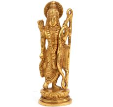 Brass Lord Ram Statue Art Sculpture