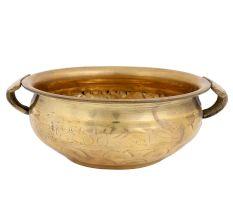 Golden Hand Made Brass Decoration Urli
