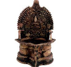 Brass kamatchiGoddess Laxmi Oil Lamp