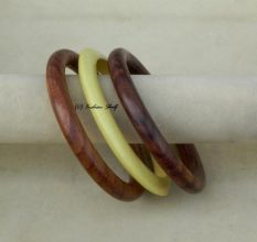 Wooden Resin Bangle-75