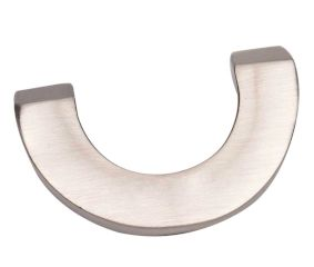 Brass Brushed Silver Color U Shape Cabinet pull Handle knob