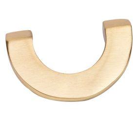 Golden Color Brass U Shape Cabinet pull Handle knob