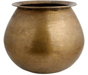 Brass Round Cooking Pot