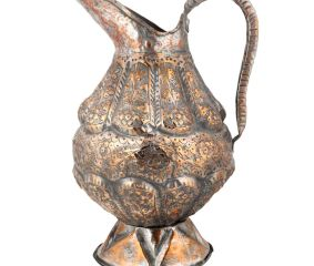 Copper Repousse Jug Water Pitcher For Gifting