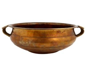 Brass Urli Bowl For Diwali Decoration