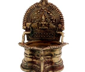 Laxmi Lakshmi Diya Brass Oil Lamp