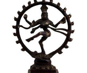 Brass Shiva Dancing Natraj Decorative Structure