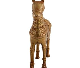 Brass Standing Horse For Home Decoration