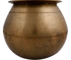 Decorative Brass Water Pot