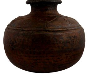 Big Decorative Brass Water Pot