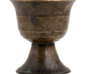 Brass Urn Shape Decorative Cup