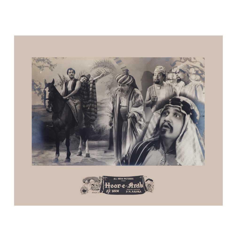 Bollywood  Movie Poster Clip Hoor -e-Arab