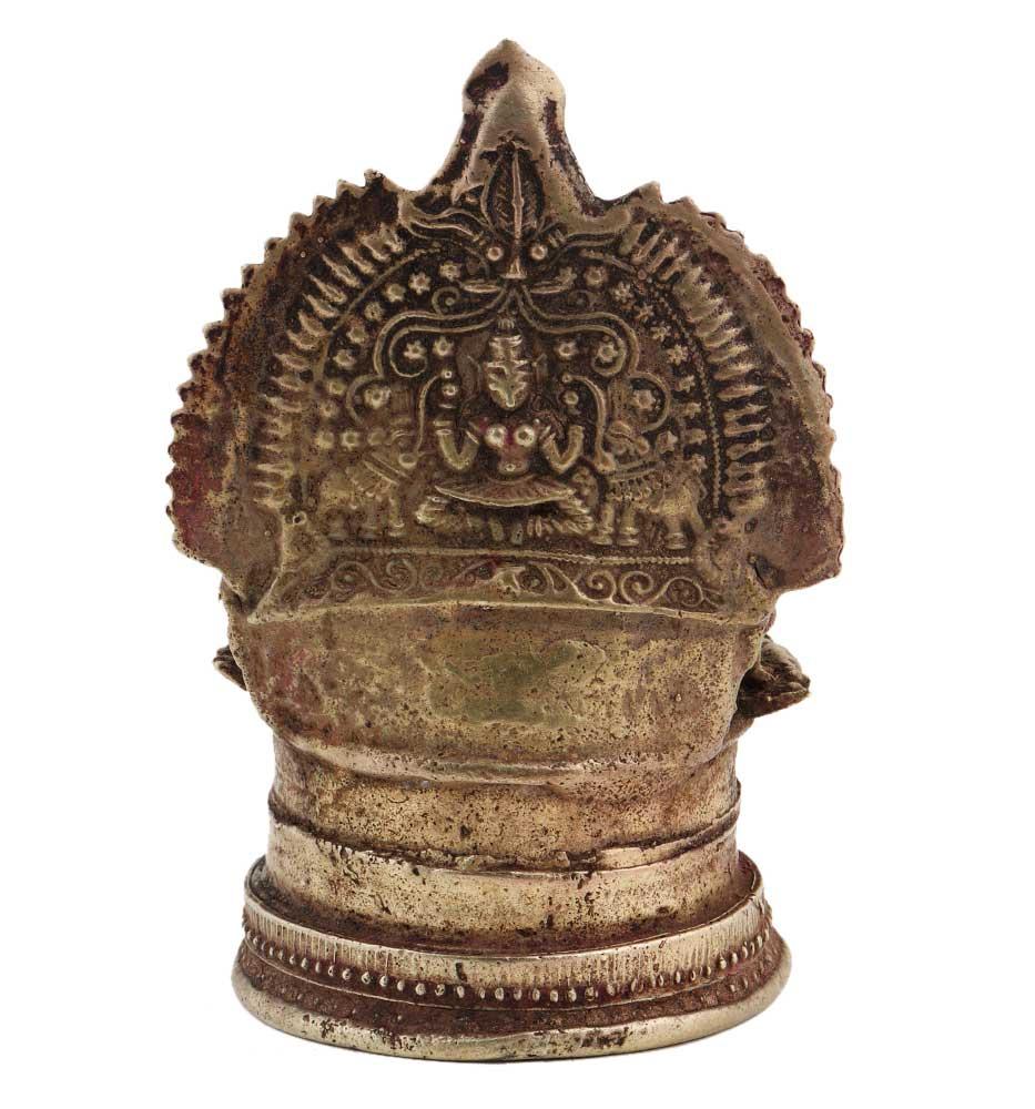 Brass Lamp Laxmi Vilakku Traditional Diya