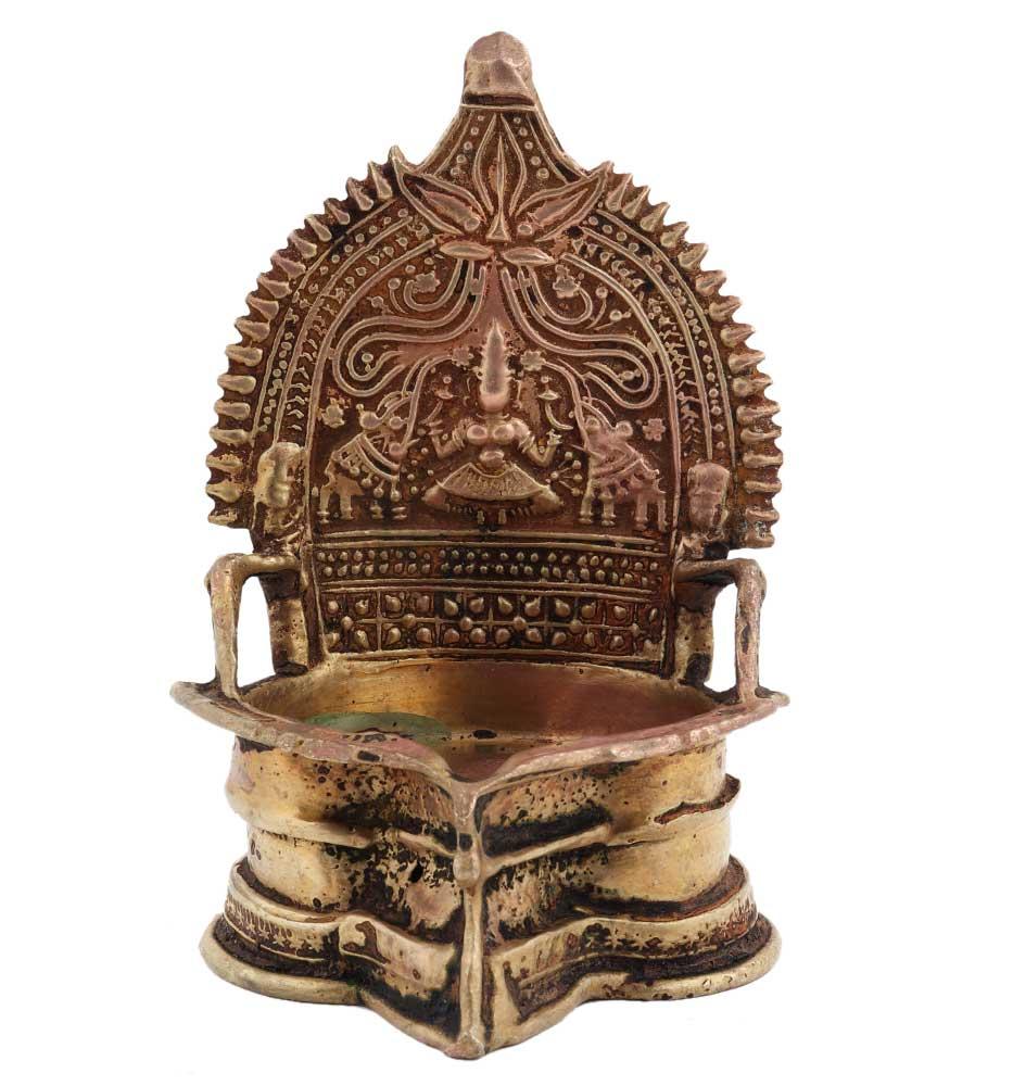 Deep Laxmi Diya South Indian Oil Lamp