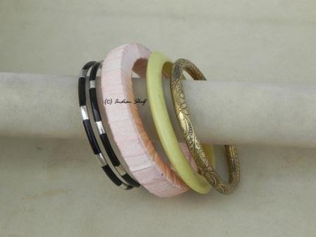 Resin & Shimmery Bangle-05