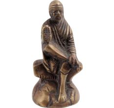 Brass Shirdi Sai Baba Statue Popular Religious Gift