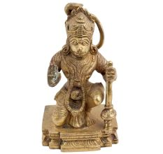 Brass Hanumanji Pavan Putra Statue
