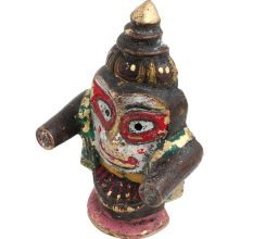 Colorful Brass Jaganathji Idol Murti