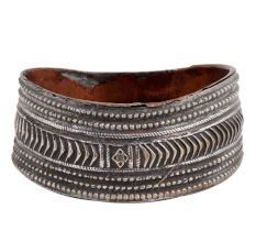 Ornate Brass And Copper Ash tray From Orissa