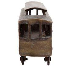 Handmade Brass Vintage Railway Engine Toy