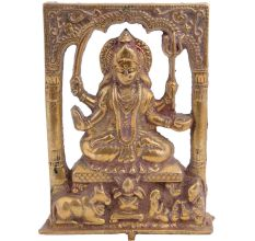 Brass Santoshi Ma In Fame For Temple Worship